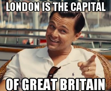 london if the capital of great britain